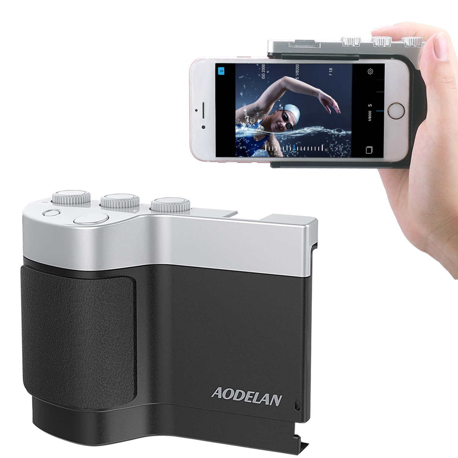 Aodelan Smartphone Camera Grip for iPhone