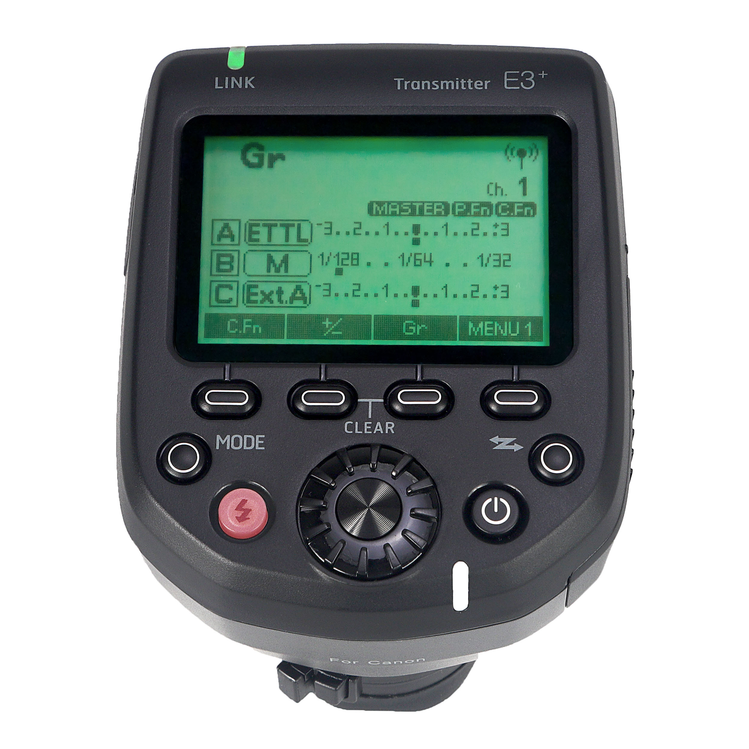 E3+ Wireless Flash Trigger Transmitter