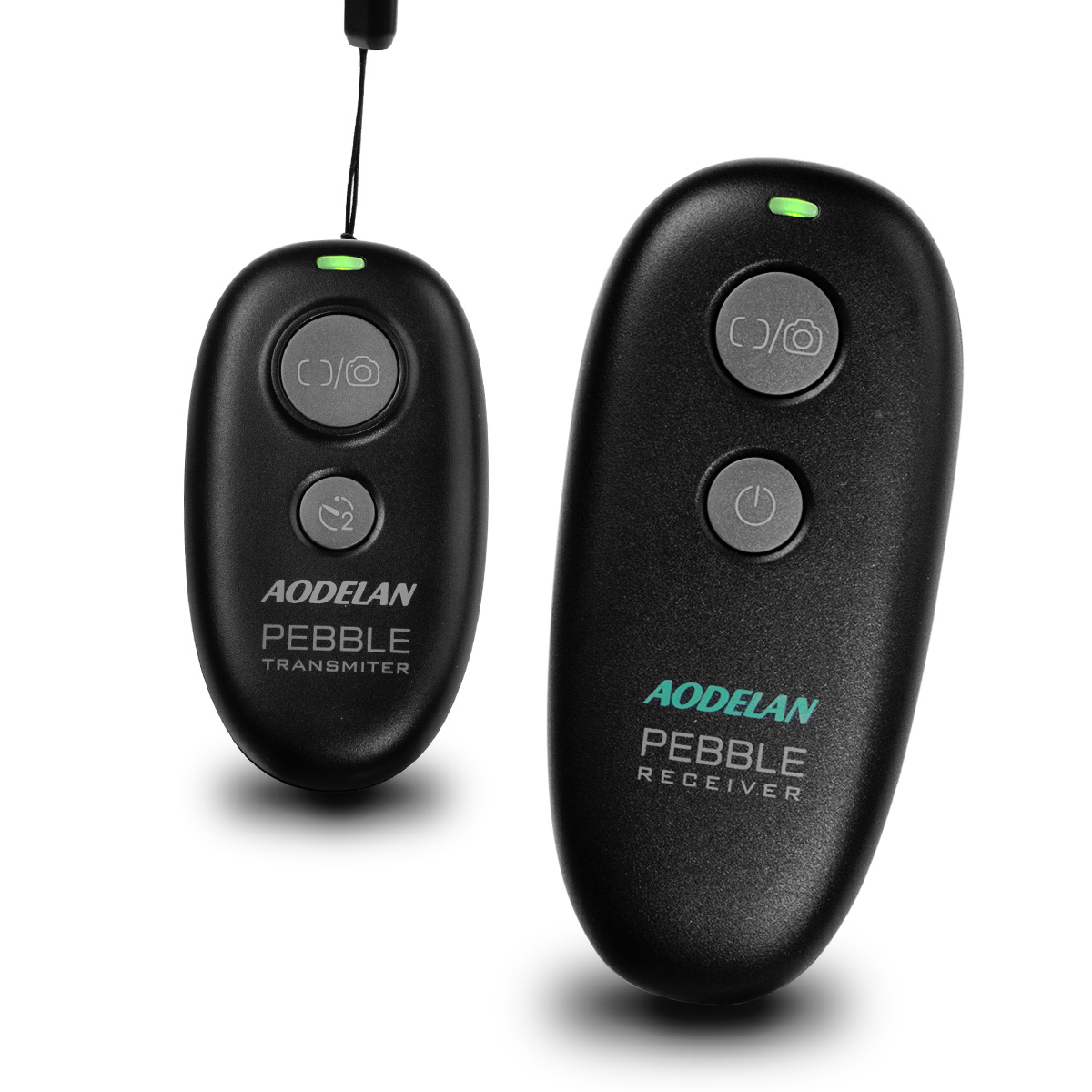 Pebble Wireless Remote Shutter Control-Black