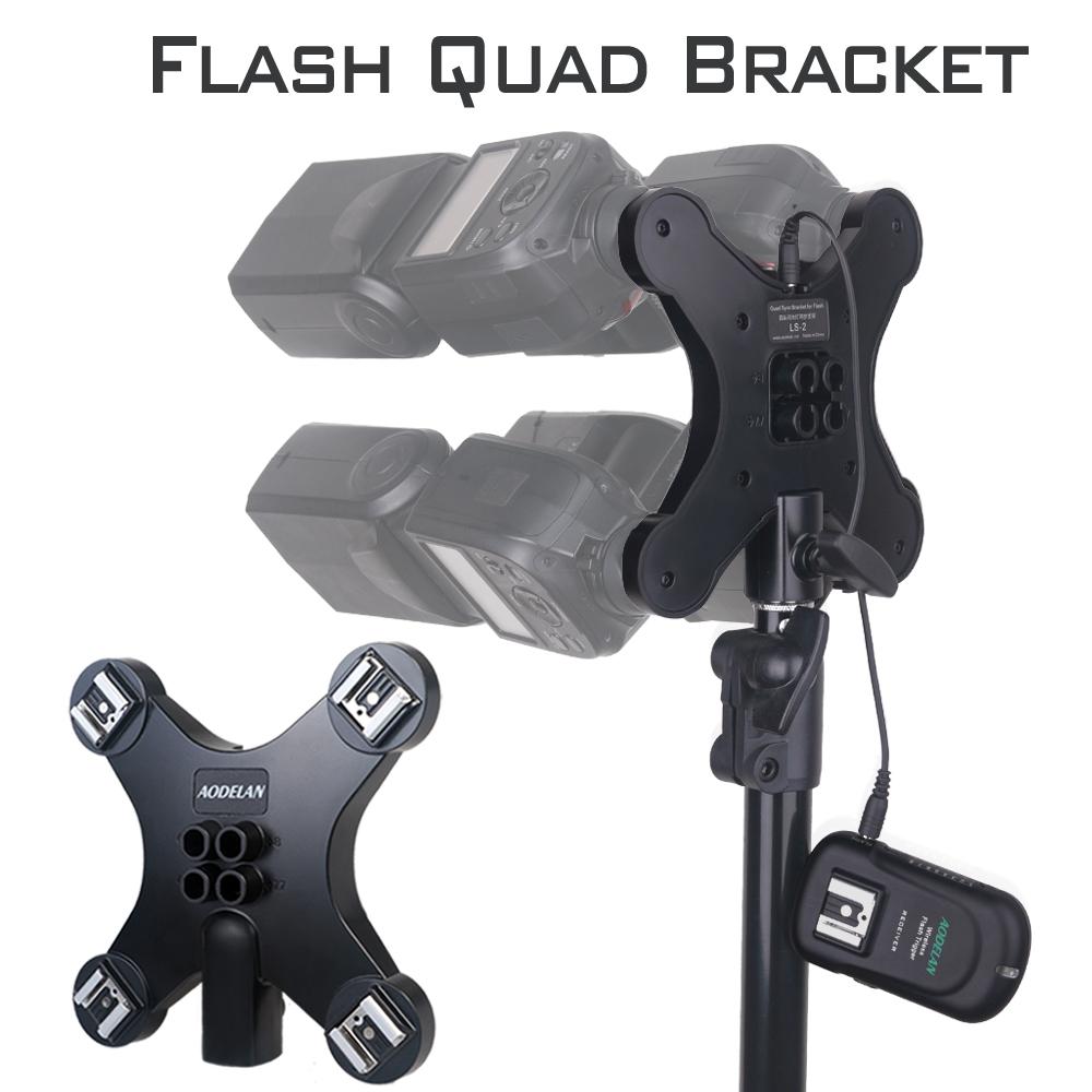 Aodelan Quad Sync Bracket for Flash